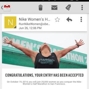 Nike Womens Half Email